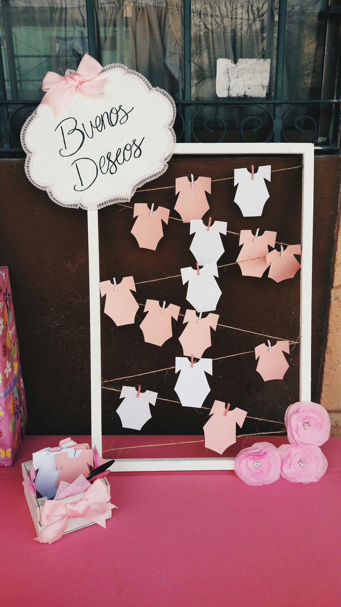 Baby shower idea para baby shower en el cual ponen los for Adornos para pieza de bebe