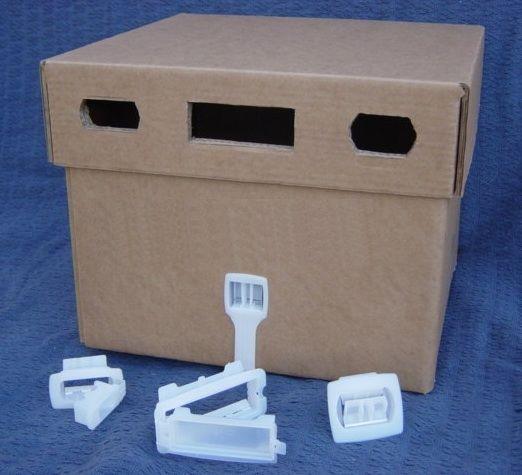 Plastic Fasteners Muebles De Carton