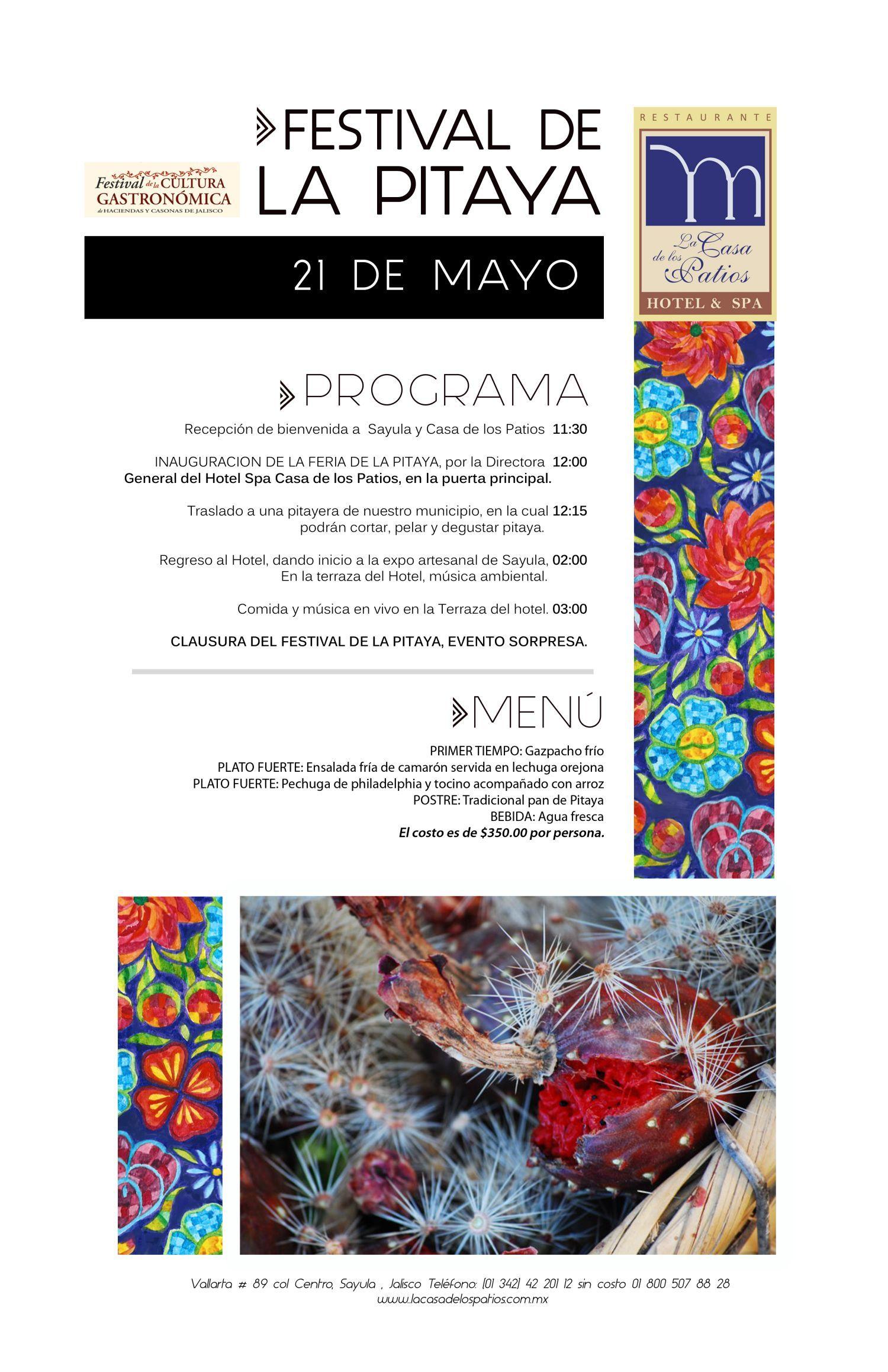 Festival de la Pitaya en Sayula 2016 | Curiosidades Gastronómicas