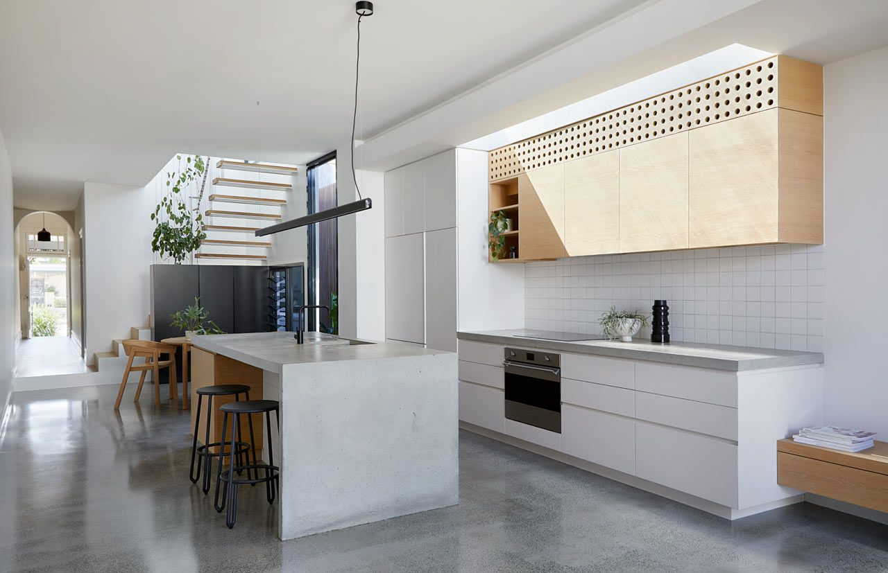 A Modern Addition To A Workers Cottage In Melbourne Interior