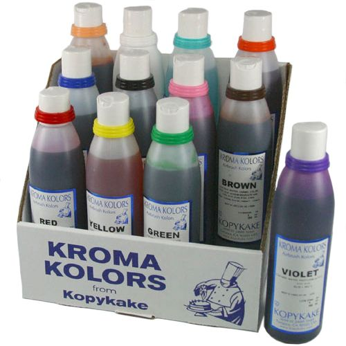 Airbrush farba KK modrá 118ml | TORTY | Pinterest