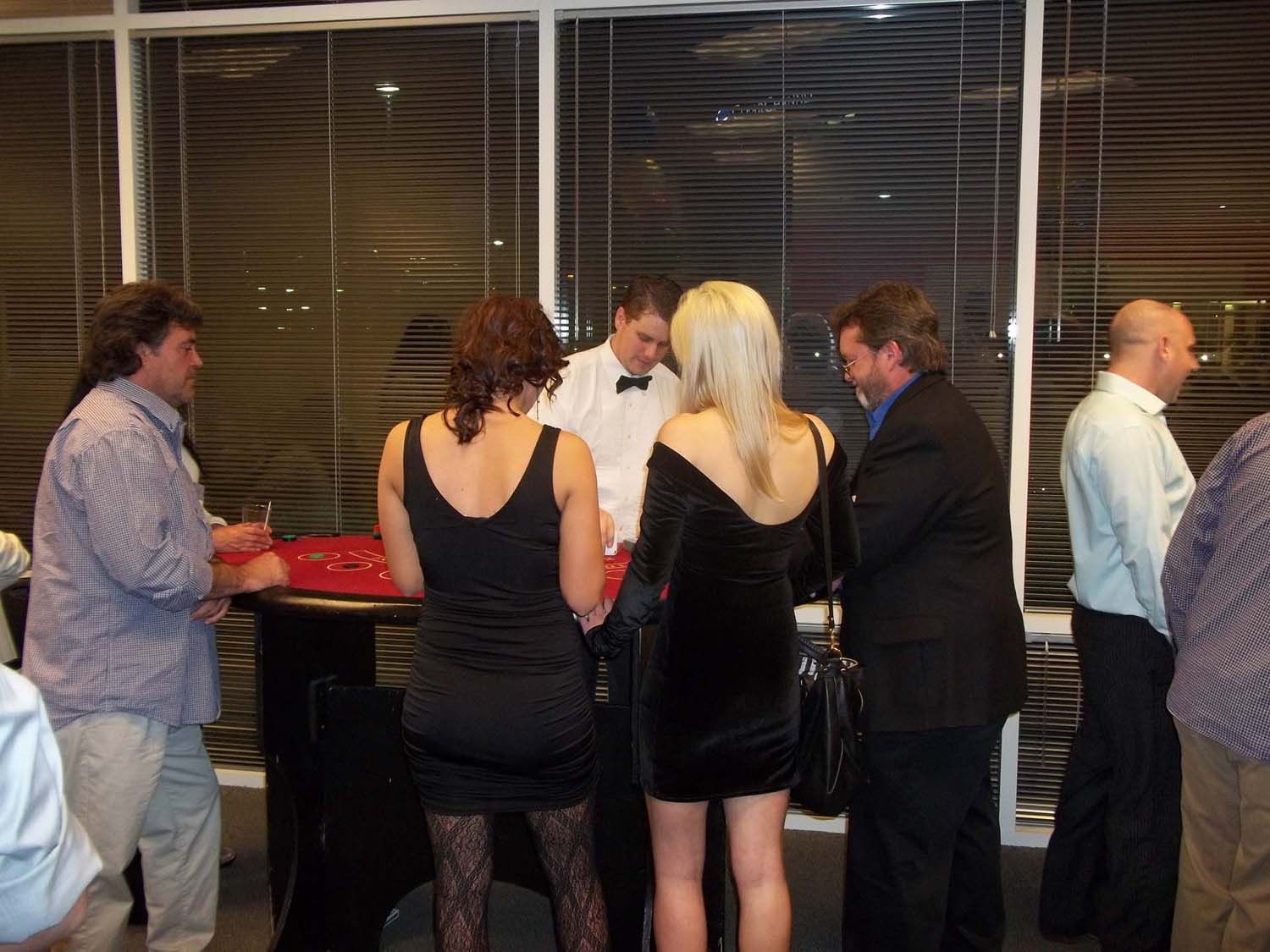 Fun Company Christmas Party Ideas Part - 33: Looking For A Great Holiday Party Idea Or Christmas Party Theme? Save On A  Casino Night For Your Next Company Holiday Or Christmas Party