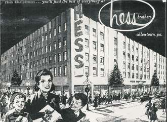 """""""Hess's was more than a department store. Its story reveals a slice of American life when a trip downtown was a big event""""..............My Grammy tells stories about this, especially their big sale or whatever that was in the basement!"""