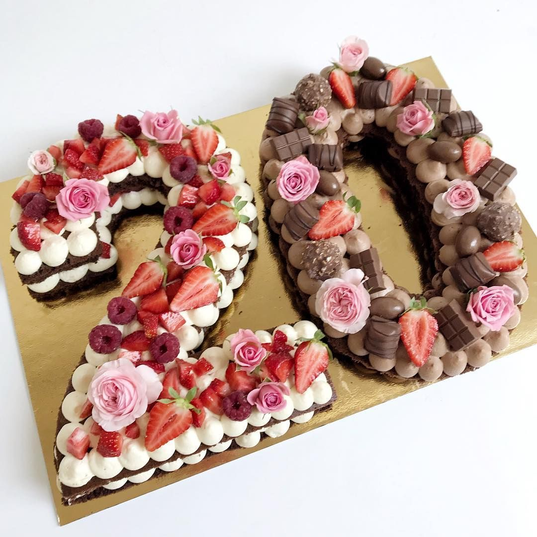 Sooo schön: Den Hochzeitstorten-Trend Cake Letters und Cake Numbers werdet ihr lieben