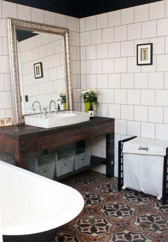 spanish bathroom floor tiles