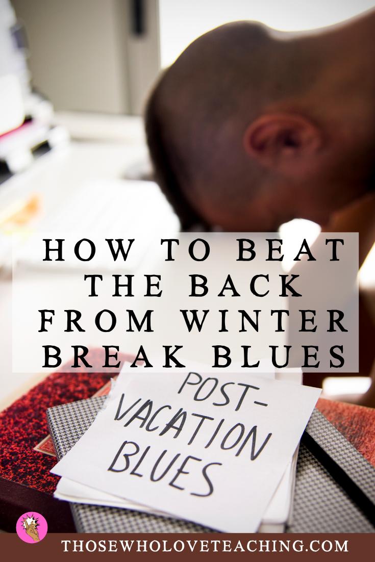 Back From Winter Break Activities