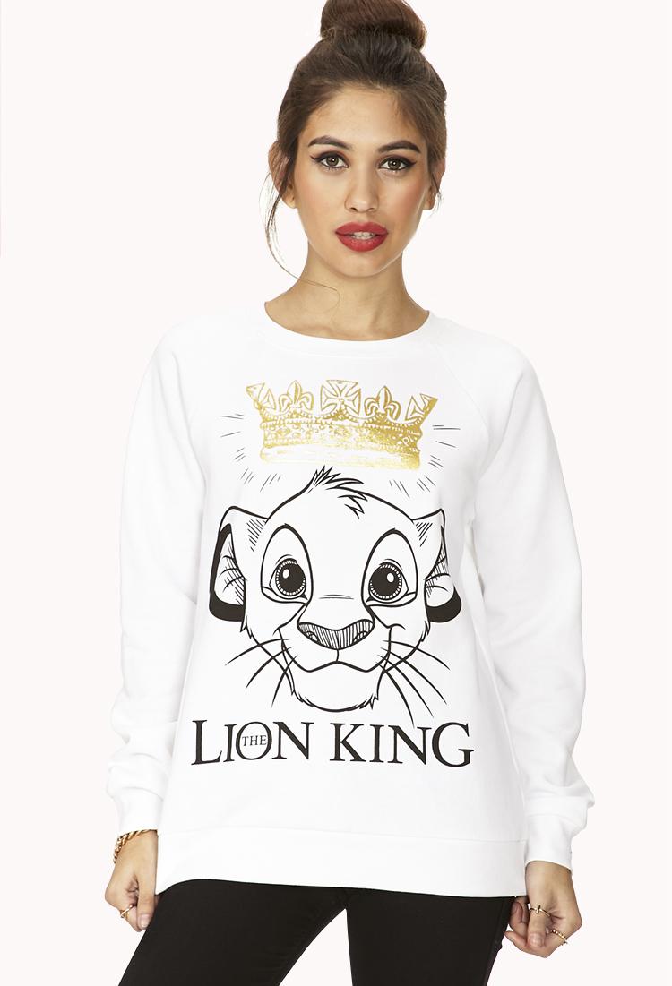Simba Sweatshirt Forever21 Sweatshirts Fashion Clothes [ 1101 x 750 Pixel ]