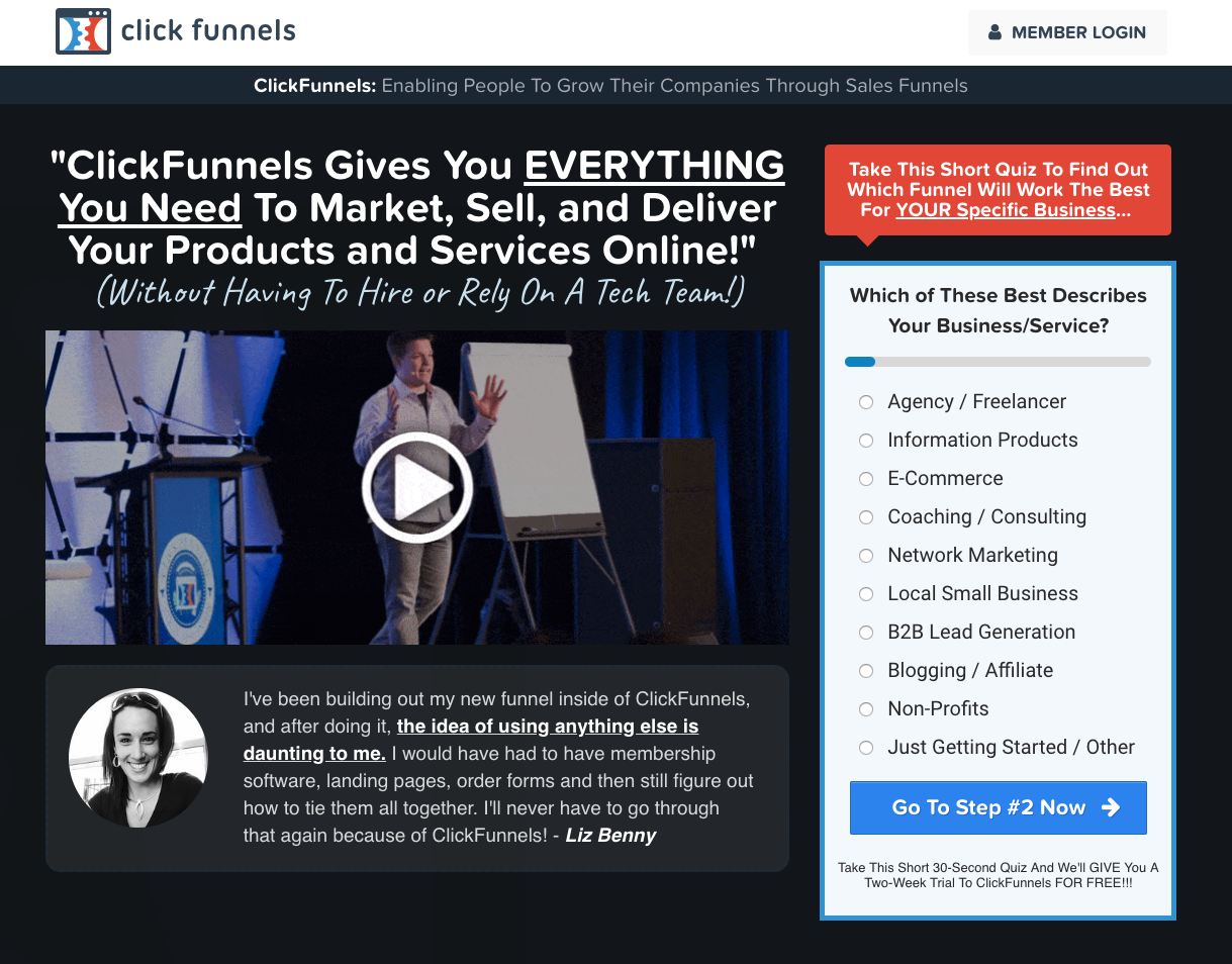 ClickFunnels Gives You EVERYTHING You need to Market, Sell
