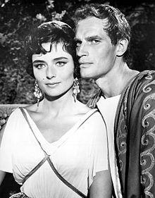 Marina Berti & Charlton Heston | Ben-Hur (1959) #benhur1959