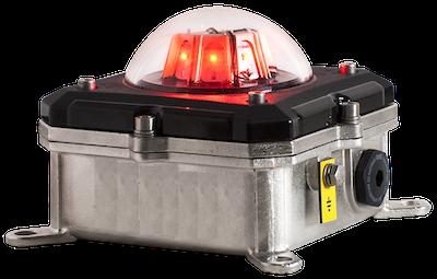 L85SARAC10 Helideck Obstruction Light, Orga