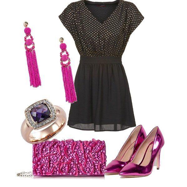 Sentirsi pinklady con un abito noir  0be122e196e