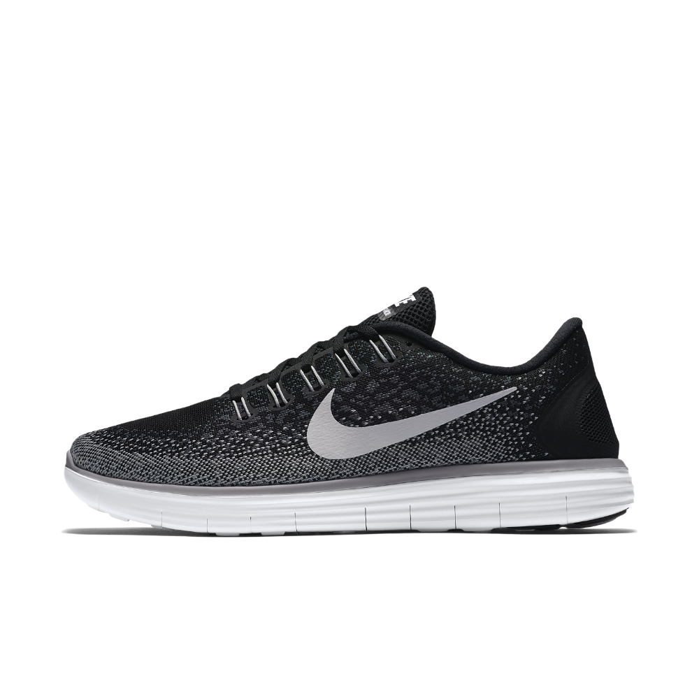 9fa02f1a1bc6 Nike Free RN Distance Women s Running Shoe Size 7.5 (Black) - Clearance Sale