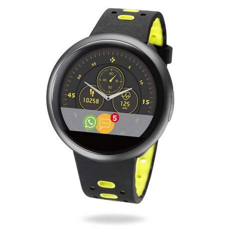 Mykronoz Zeround2 Hr Premium Smartwatch With Circular Color