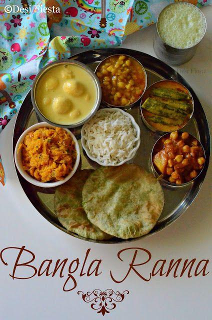 Bengali thali recipe indian vegetarian recipes pinterest bengali thali recipe forumfinder Image collections