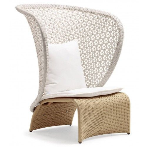 Exotica High Back Chair Custom Single Sofa Lounge Chair Outdoor