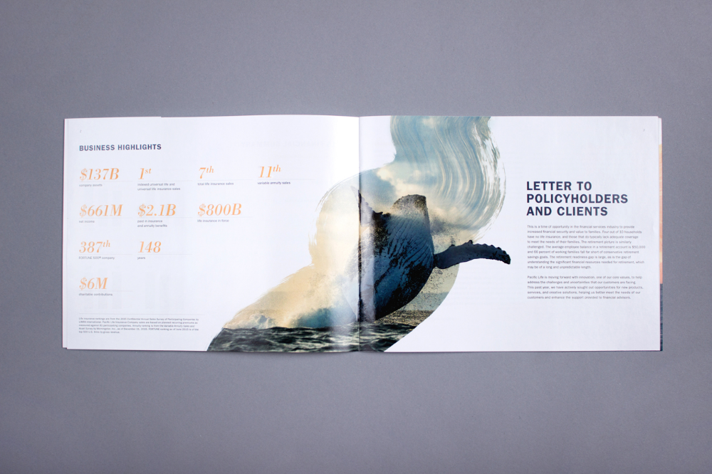Pacific Life 2015 Annual Report In 2020 Annual Report Annual