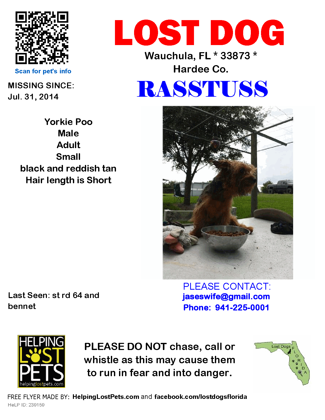 Wauchula St Rd 64 Bennet Fl 33873 Hardee Co Lost Dog 07 31 2014 Yorkie Poo Black Reddish Tan Note From Famil Losing A Dog Yorkie Yorkie Poo