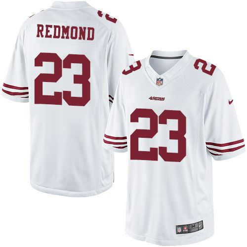 62719e866 cheapest youth nike san francisco 49ers 23 will redmond limited white nfl  jersey 4665e 5e477