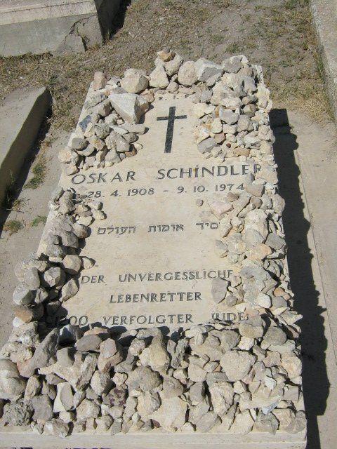 oskar schindler s grave history and cemetery oskar schindler s grave