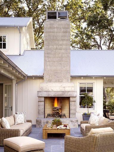 In Good Taste Napa Farm House Stephen Willrich Architecture