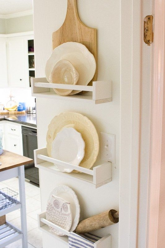 Photo of DIY Plate Rack Hack | Girl v. The World | IKEA Hack