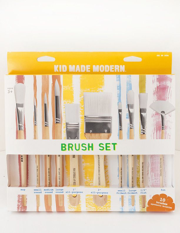Brush Library Set Of 24 With Images Art Supply Organization