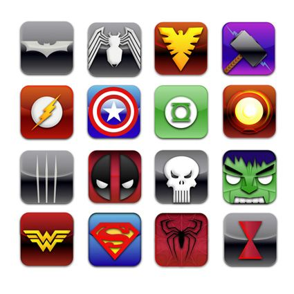 superhero logos superheroicon party pinterest superhero logos superhero and superheroes. Black Bedroom Furniture Sets. Home Design Ideas