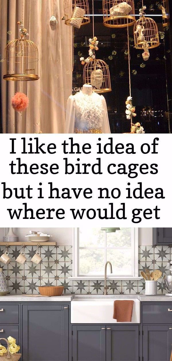 I like the idea of these bird cages but i have no idea where would get them or if they would look weird in the room:  Pouring Paint Can Tulle Curtains- cute art classroom window decorations. School room decor. Colorful rainbow colors. Tutorial #painting #paintideas #curtainideas #curtains #diy #diycrafts #diyprojects #diyideas #homedecor #homerenovation #craftymorning Custom Kitchen | Floating Shelves by Semihandmade