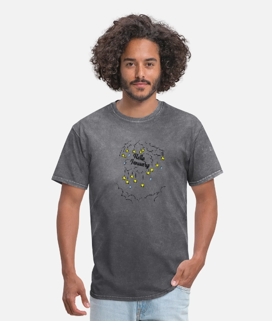hello january Men's T-Shirt | Spreadshirt