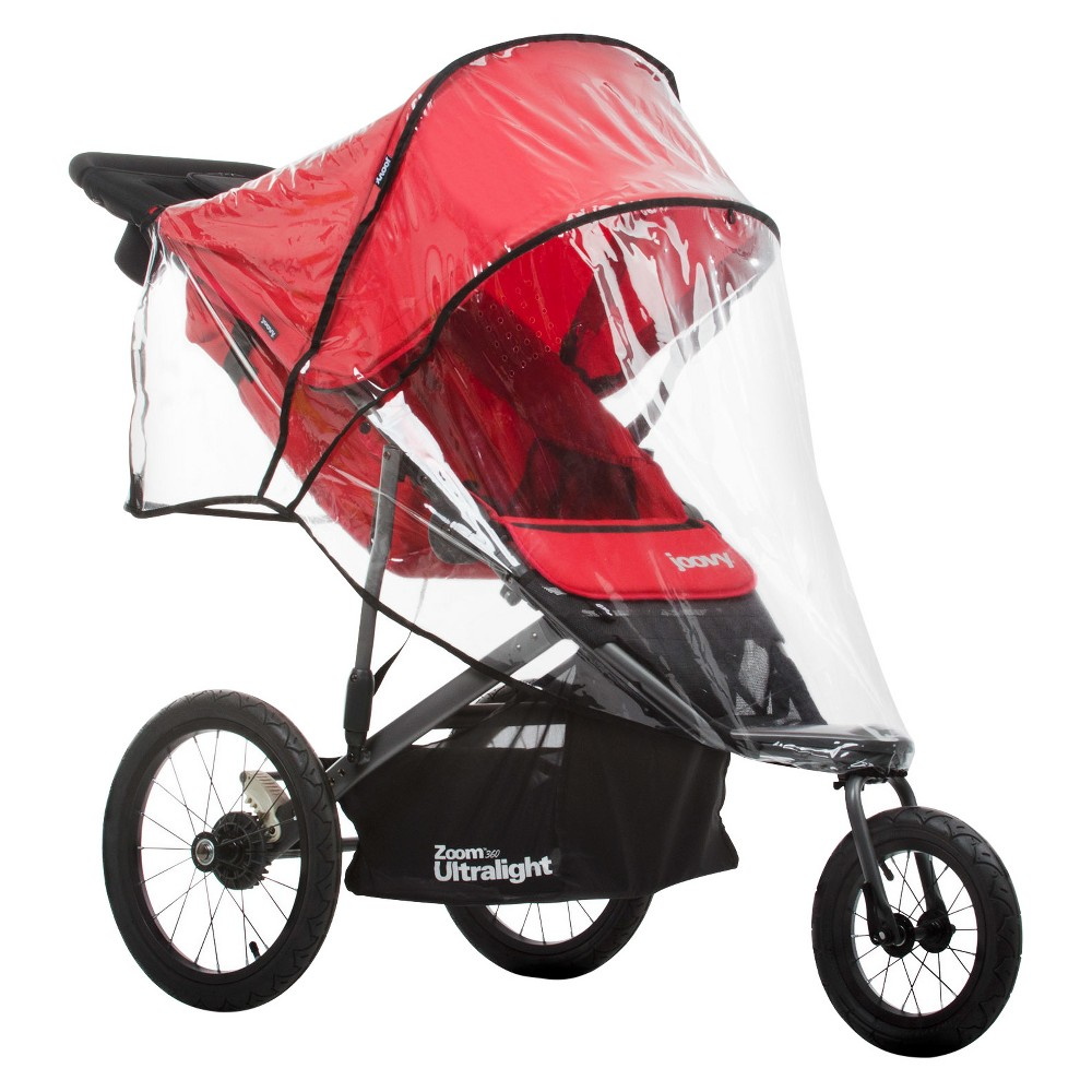 Joovy Zoom 360 Ultralight Rain Cover, Clear Baby cover