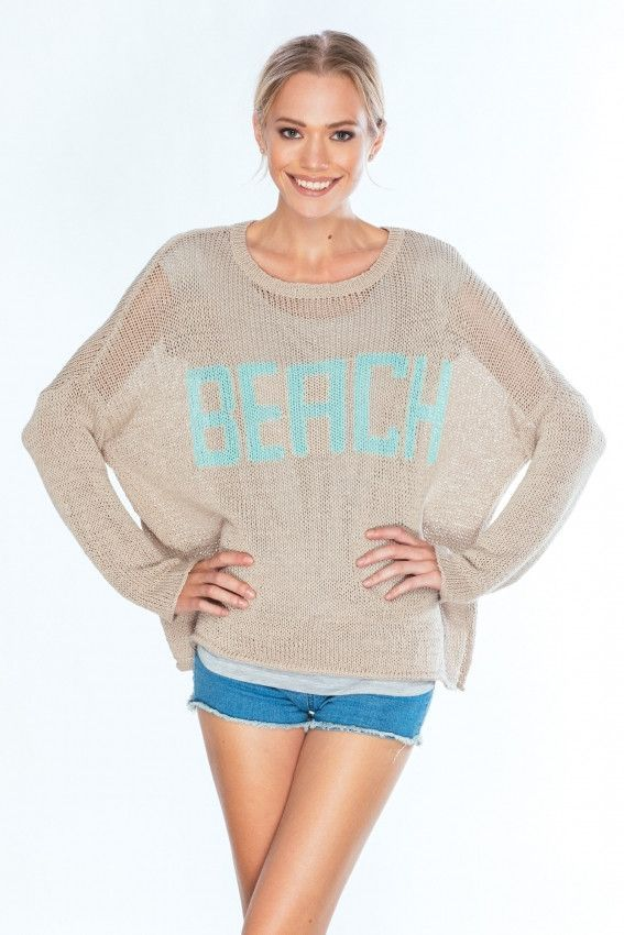 Beach Sweater by Woodenships