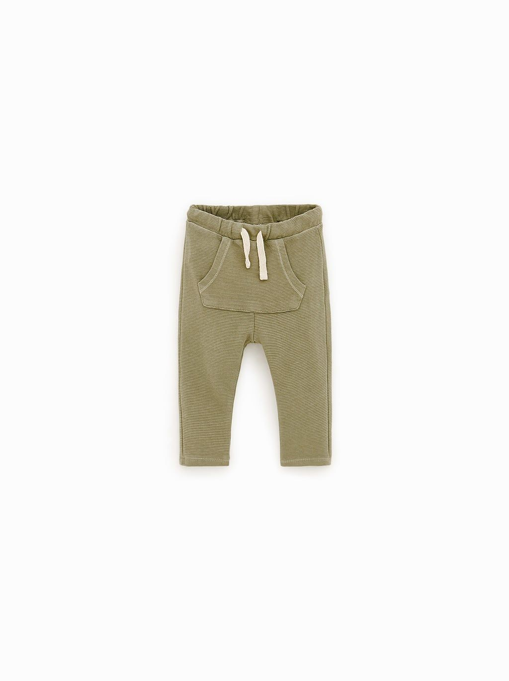 125bed12b7 Image 1 of PATCH POCKET HAREM PANTS from Zara