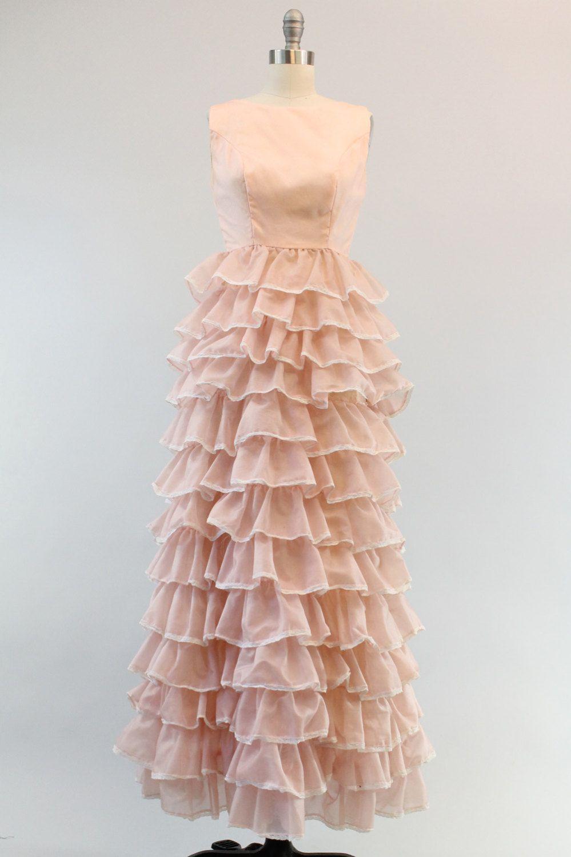 Reserved s organza dress xs s ruffle wedding dress allegro