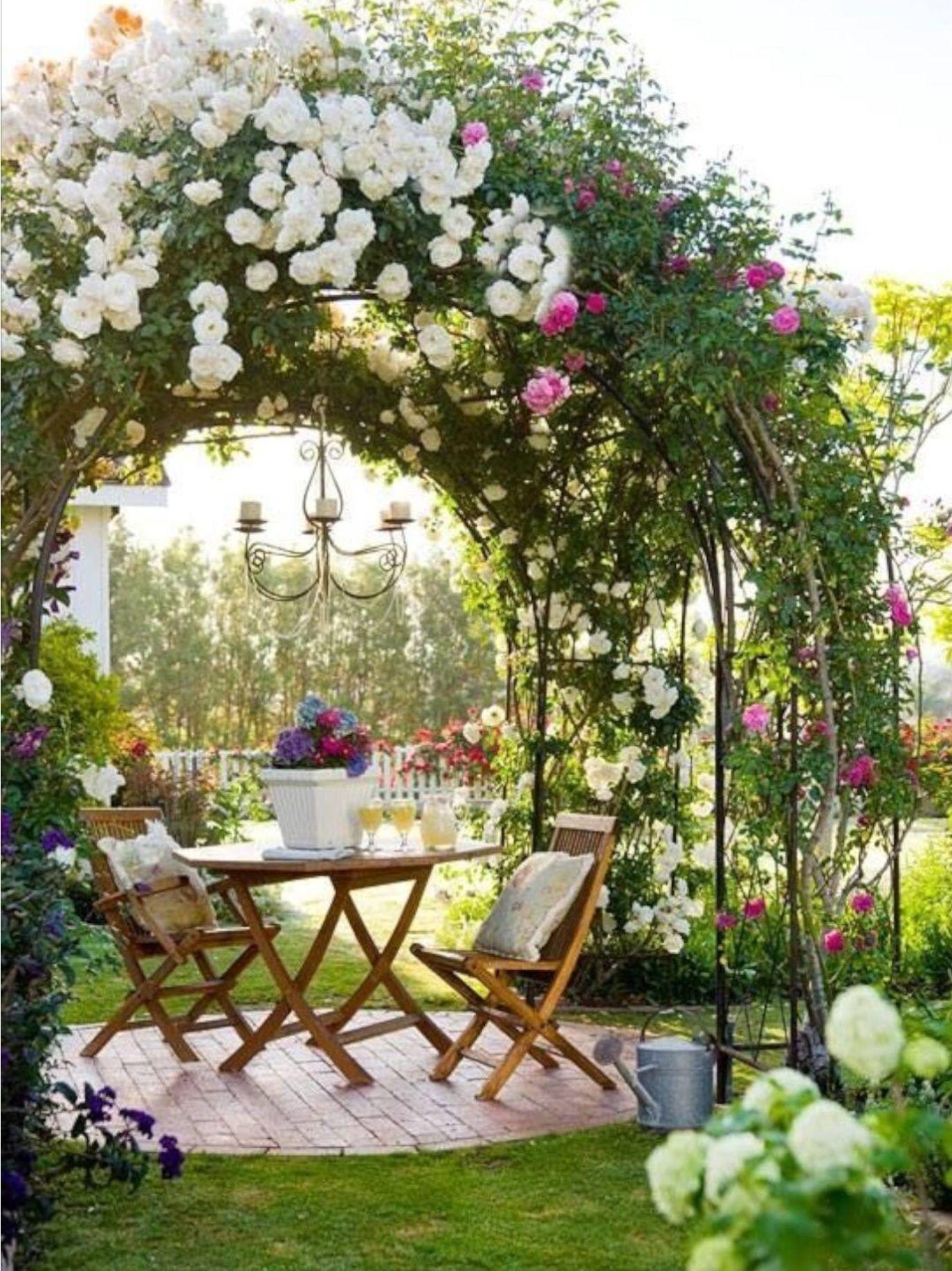 Home Garden Colazione In Giardino  Outdoor Garden  Pinterest  Gardens