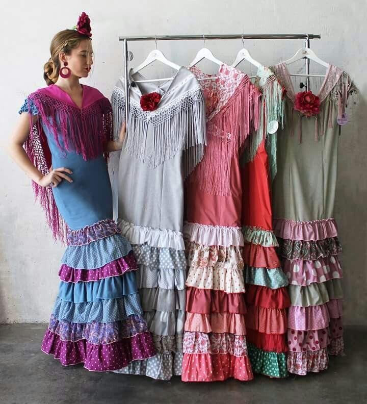 Do a ana flamencas pinterest flamenco trajes de for Muebles peralta sevilla