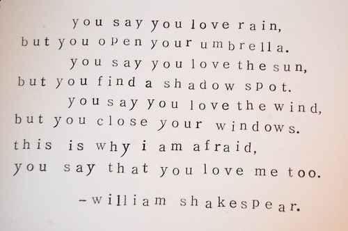 You Say You Love Rain Proverbes Et Citations Belles