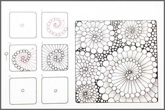 17 zentangle patterns to get your zen back