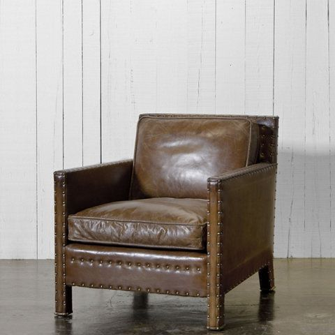 Nail Head Club Chair Ralph Lauren Home Ralphlaurenhome