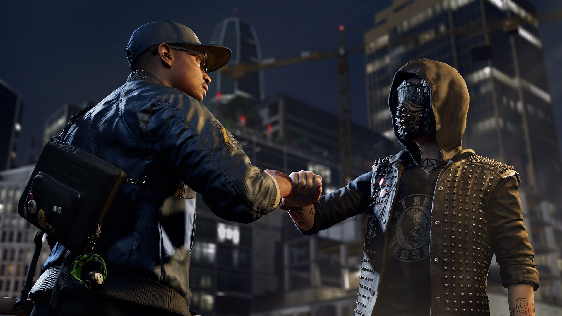 Wallpaper Watch dogs Bad blood Character Art HD Picture Image