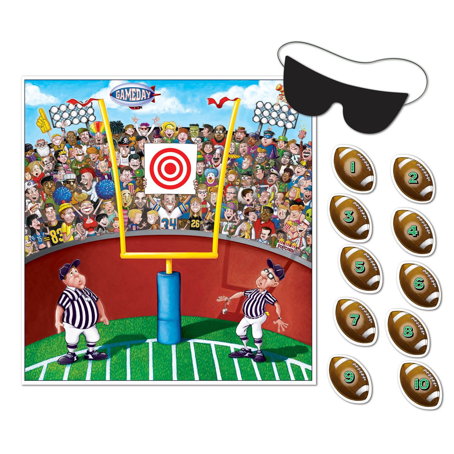 Pin The Ball Football Game Will Have Everyone Parti Ting Grab This For Your Party And Watch The Fun Come Alive