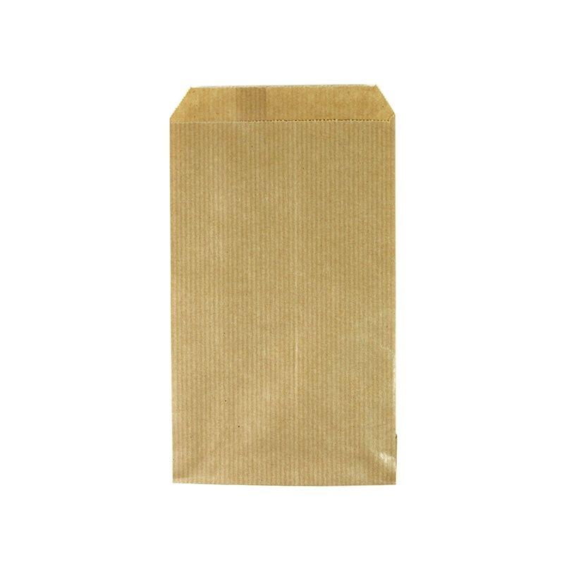 Kraft zakjes bruin 10 papieren zakjes 10 x 15 cm for Papieren kraft zakjes