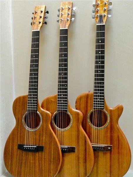 Koa Guitars Exotic Guitars Guitar Acoustic Acoustic Guitar