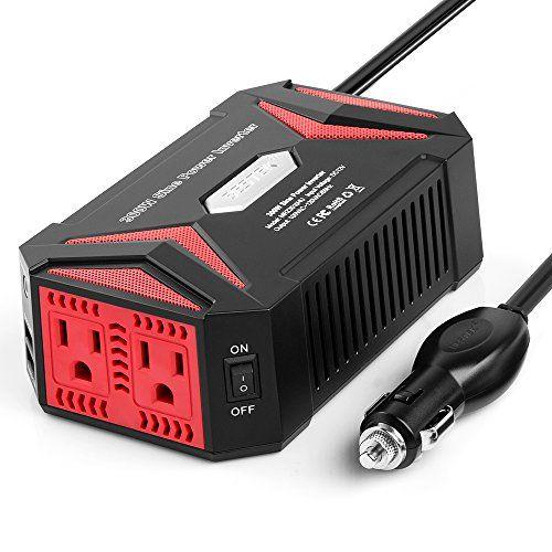 Bestek 300w Power Inverter Dc 12v To Ac 110v Http Freebiefresh Com Bestek 300w Power Inverter Dc 12v Review Power Inverters Van Life Best Campervan