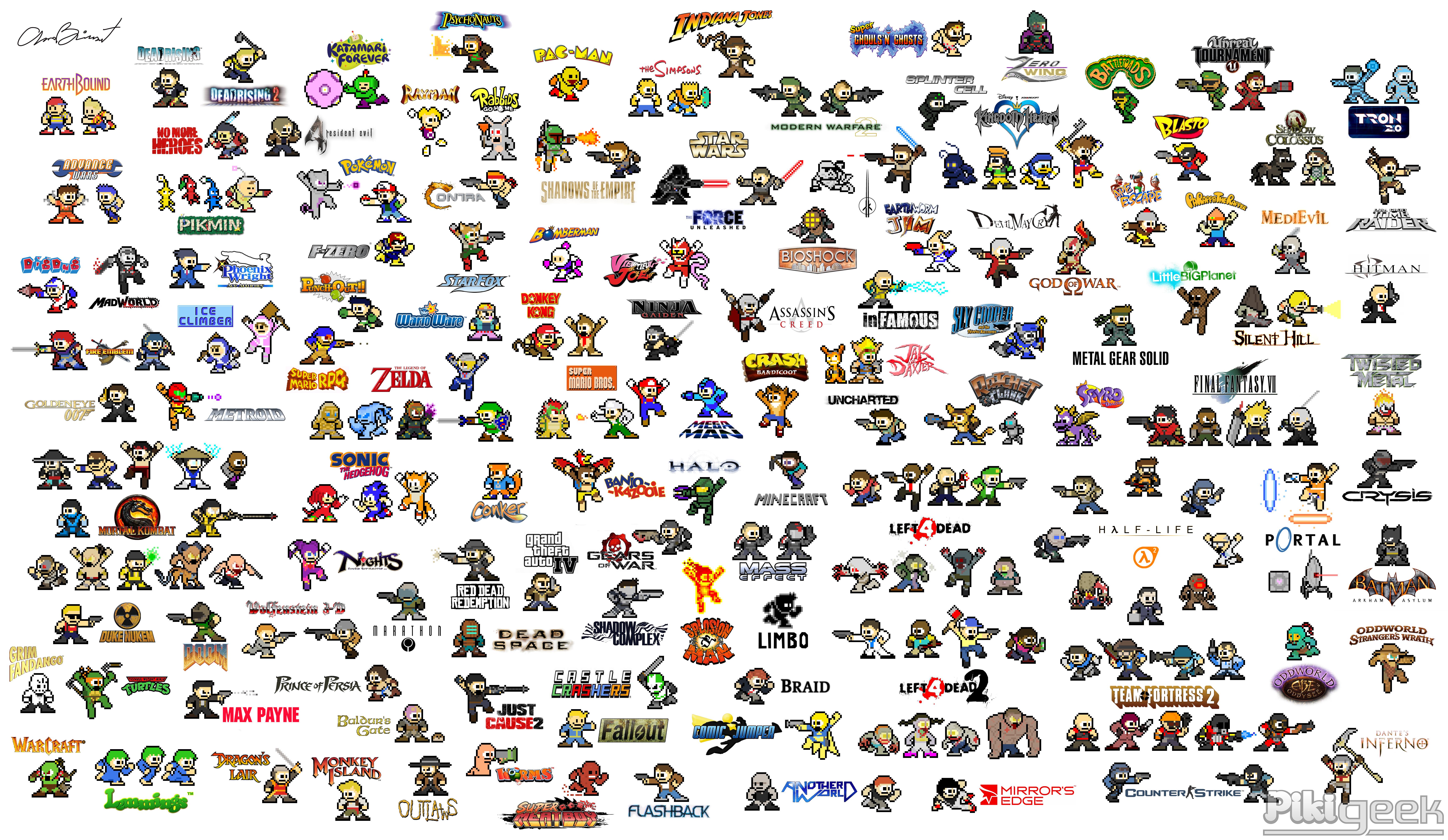 Megaman Mix 8bits Pixel Art Pinterest Other
