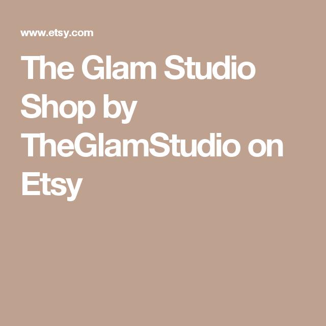 The Glam Studio Shop by TheGlamStudio on Etsy