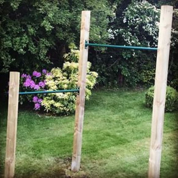 outdoor pull up bar diy - Google Search #playgym #backyard ...
