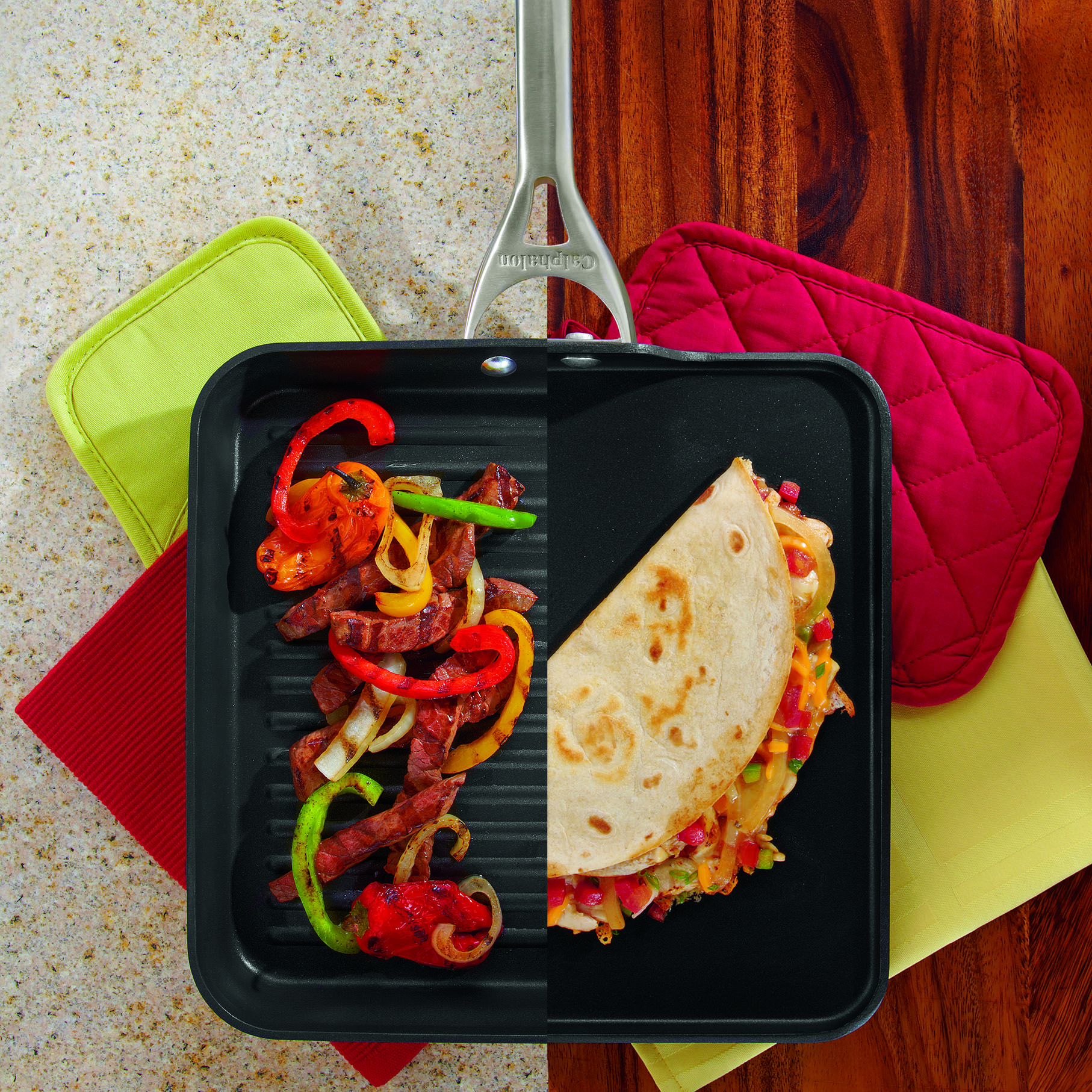 Heat Up The Fiesta With Calphalon S Nonstick Pans Do You