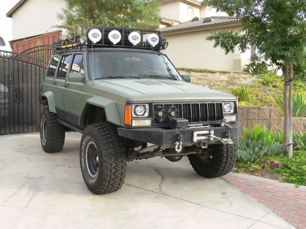 Roof Rack Or Rear Bumper For Spare Tire Jeep Cherokee Forum Jeep Xj Jeep Cherokee Jeep