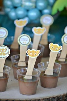 Lion King Baby Shower Cupcakes | Hostess with the Mostess® - Baby Simba Baby Shower
