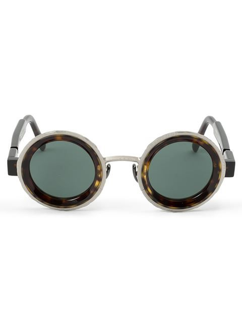 d20ddf9f0f Shop Kuboraum round frame sunglasses in Patron of the New from the world s  best independent boutiques at farfetch.com. Shop 300 boutiques at one  address.